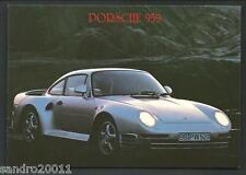 Porsche 959 - cartolina realizzata nel 1990