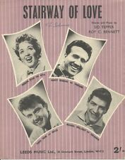Stairway To Love - Michael Holliday - Marty Robbins - Sheet Music