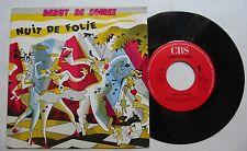 DEBUT DE SOIREE (SP 45T)  NUIT DE FOLIE