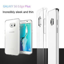 Ultra Clear Crystal View TPU Cover Phone Case For Samsung Galaxy S6 Edge+ Plus