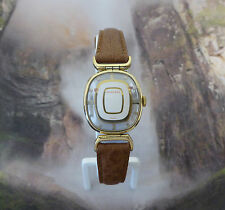 Vintage Ladies Juvenia Wristwatch Skeleton Case, Mystery Dial , 17 Jewels