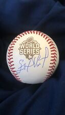 Edinson Volquez Signed 2015 World Series Baseball Royals No Hitter All Star