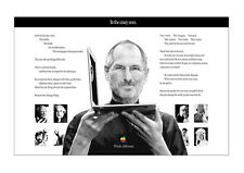 Póster de apple steve jobs & the Crazy Ones-muro imagen din a1 - 59,4 cm x 84,1 cm