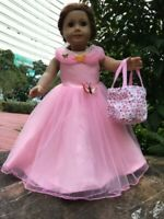 "Cinderella dress bag inspired by Disney's movie for American girl 18"" Doll 2pc"