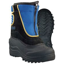 Girls Itasca SnowStomper Winter Boot Royal Size 7 #QE987-926