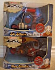 AVATAR THE LAST AIRBENDER AIR ATTACK BATTLE GLIDER & FIRE ATTACK RHINO *NEW*