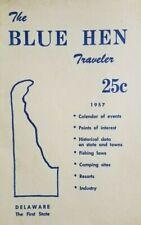 1957 Delaware Tourism Booklet Brochure The Blue Hen Traveler