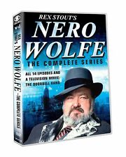 Rex Stout's Nero Wolfe Complete TV Series (14 Episodes + TV Movie) NEW DVD SET