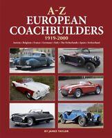 A-Z European Coachbuilders 1919-2000 (Car Design Karosseriebau Europa) Buch book
