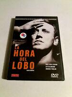 """DVD """"LA HORA DEL LOBO"""" COMO NUEVO INGMAR BERGMAN MAX VON SYDOW LIV ULLMANN INGRI"""