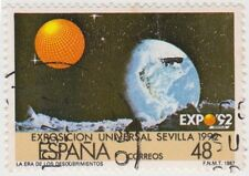 (SPA124) 1987 Spain 19p & 48p expo pair ow2897-8
