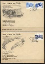POLAND 1982 FDC SC#2461+2463+2466 VISTULA RIVER
