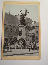Budapest - Honvéd szobor - Honved Monument - 1900 / KAB