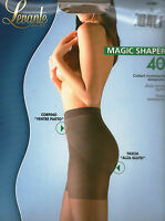 COLLANT calza MAGIC SHAPER 40 den  nero-moka M-L-XL 2-3-4 ALZAGLUTEI GUAINA