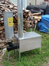 Trail Boss Wood & Pellet Burner Camp Stove Riley Stoves