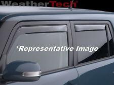 WeatherTech Side Window Deflectors for Nissan Juke - 2011-2015 - Light Tint