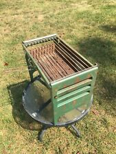 New Listingvintage 1960s Fold Away Grill Griddle Holland Ind Inc Bbq Portable Rv Camping