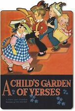A Child's Garden of Verses Shape Book by Robert Louis Stevenson c2011, NEW PB