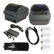 Zebra GX420d Desktop Direct Thermal Label Printer with Eth & USB w/ 1000 labels!