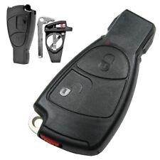 Auto Schlüssel Gehäuse Set  passend für Mercedes W169 W202 W203 W208 W210 W211
