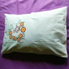 1 Pcs Handmade Painted Beautiful Creative Polyester Pillow Cover Cases Sofa Beds