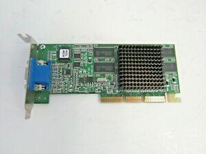 Dell 9K100 ATI Rage 128 Ultra 32MB AGP Low Profile Video Graphics Card     16-4