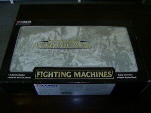 CORGI FIGHTING MACHINES CSCW17004 4 PIECE SET GUADALCANAL WAR IN THE PACIFIC
