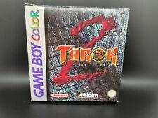 Turok 2: Seeds of Evil · Nintendo Game Boy Color · CIB · OVP + Anleitung #3