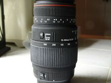 Sigma 70-300mm F/4-5.6 APO Lens for Canon EF W/lens caps
