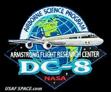 ARMSTRONG FLIGHT RESEARCH CENTER - NASA DC-8 - AIRBORNE SCIENCE PROGRAM PATCH
