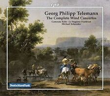 Telemann: The Complete Wind Concertos, New Music