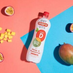 Vitamin D Drink Mango & Passionfruit 12x1Litre by Get More Vits