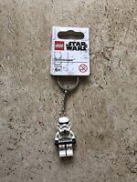 LEGO Star Wars Stormtrooper Minifigure Keychain New Item #853946 Genuine Minifig