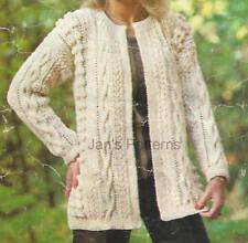 Clothing/Shoes Aran Crocheting & Knitting Patterns