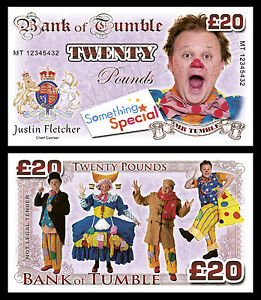 Mr Tumble Novelty Banknotes / Party Bag Fillers