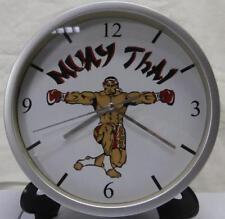 Pendule murale horloge 20cms MUAY THAI ( boxe combat mma freefight arts martiaux