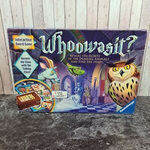 WHOOWASIT Interactive Electronic Board Game by Ravensburger 2011