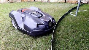 Mobile Abgrenzung Mähroboter Robomover Automower Mähkante Schutzkante Rasenrobot