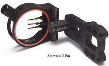 3006 KP Eco 5 Pin Sight w/Level 5 Pin .029 RH/LH Black