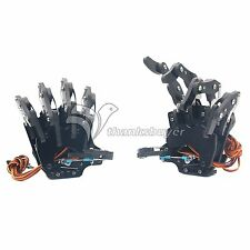Robot Mechanical Claw Clamper Gripper Arm Five Fingers Right+Left Hand Assembled