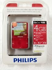 Philips SA1VBE04RW/17 RED GoGear 4GB MP3 Video Player