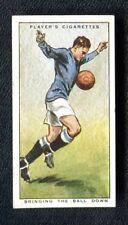 John Player: Hints on Association Football 1934: No 15: Bringing The Ball Down