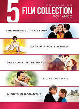 5 Film Collection: Romance (DVD, 2013, 5-Disc Set) Cat on a Hot Tin Roof  NEW