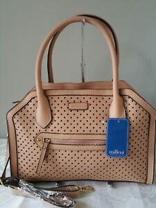 Vershe* Dressy Milleni handbag, Shoulder, cross body bag, laser cut, Blush, NWT