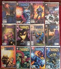 Thanos 1 2 3 4 5 6 7 8 9 10 11 12 Marvel Avengers Comic Lot Set 2003 Galactus