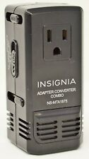 Insignia Travel Foreign Voltage Ac Adapter Converter (Ns-Mta1875-C) 220V to 120V