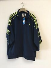 Mens Adidas Originals SPRT Track Top jacket DIFFERENT SIZE  navy/yellow