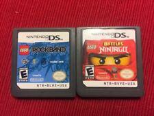 Lot of 2 Lego Games Ninjago Rockband (Nintendo DS) - Tested and Guaranteed