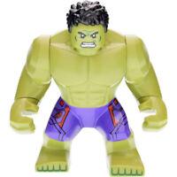 Marvel Super Heroes Incredible Hulk Mini Figure,Spiderman,Batman Fit lego Purple