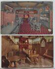 2 Pre Prohibition Hamms Beer Postcards Rathskeller & Sternwirth